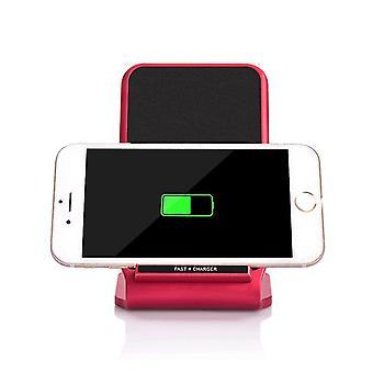 Szafka nocna indukcyjna szybka ładowarka Qi NFC bezprzewodowa ładowarka 10W