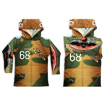 Flying Tiger Hoodie Sport Shirt By Mouthman®
