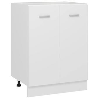 Bottom Cabinet White 60x46x81.5 Cm Chipboard