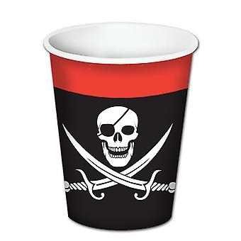 Tazze per bevande pirata (confezione da 12)