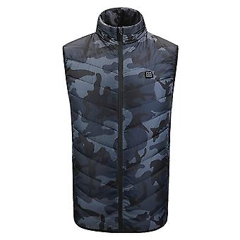 Electric Heating, Vest Usb Charge, Carbon Fiber, Coat, Men