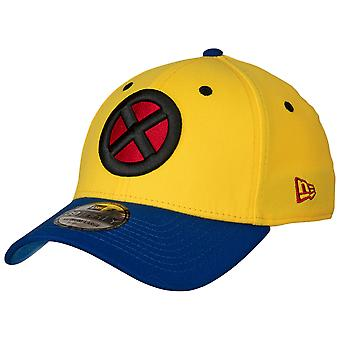 X-Men Symbol Wolverine Costume Sur le sujet New Era 39Thirty Fitted Hat