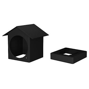Deal cheapest Protective Silicone Cover Compatible with Wyze Cam Outdoor Security Camera Silicone Skins Roof Shape Weather Resistant Full Protection