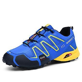 Mens Lightweight Sports Running Shoes 9L8-1 Blue