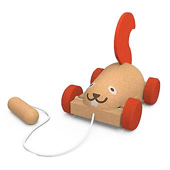 Elou Pull along Squirrel Toy