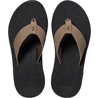 Reef Mens Phantom II Summer Holiday Beach Sandals Thongs Flip Flops - Grey