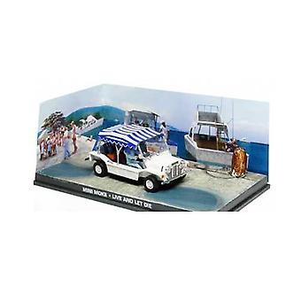 Mini Moke Diecast modell bil från James Bond-leva och låta dö