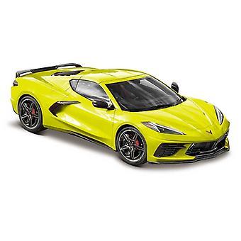 Chevrolet Corvette C8 Stingray (2020) in Neon Yellow/Lime Green