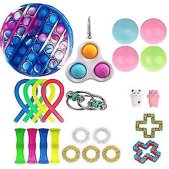 Style4 anti anxiety fidget packsensory toys set for kids teens adults autism x797