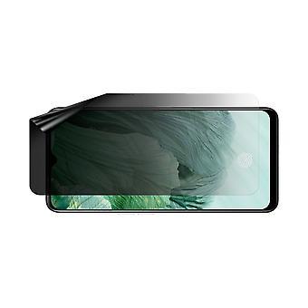 Celicious Privacy Lite (Landscape) 2-Way Anti-Glare Anti-Spy Filter Screen Protector Film Compatible with Oppo F17