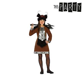 Costume per bambini femmina vichingo