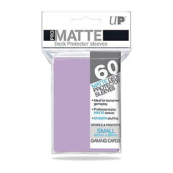 Protectores de cubierta pequeña Ultra Pro-Matte (60 mangas) - Lila
