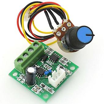 Pwm motor speed controller automatic dc motor regulator control module low voltage dc 1.8v to 15v 2a