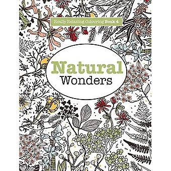 Really RELAXING Colouring Book 4 Natural Wonders  A Colourful Journey Through the Natural World by James & Elizabeth