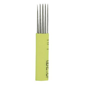 Microblading nåler | Skyggelegging med dobbel rad - 7 MI / 50 / gb