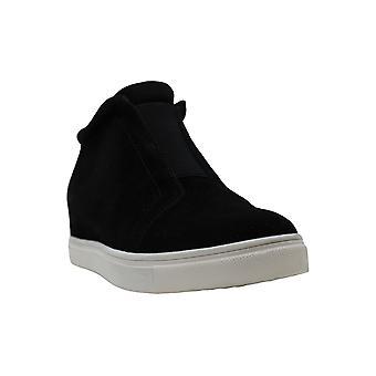 Aqua College Womens Glady Suede Low Top Zipper Fashion Sneakers