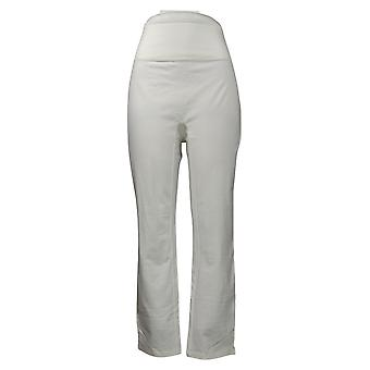 Vrouwen met Control Women's Pants Tummy Control Slim Leg White A391211