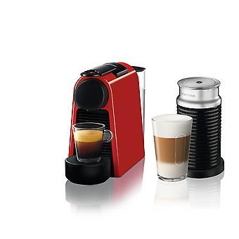 Nespresso Essenza Mini D35 Red Bundle Coffee Machine