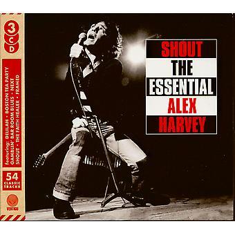 Shout The Essential - Alex Harvey CD