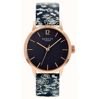 Radley Mto - Ss21 Promo Ry21250a Black Dial Leather Strap Ladies Watch
