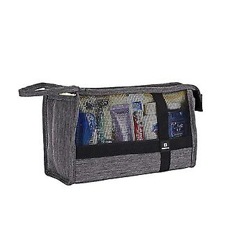 Travel Mesh Laundry Bags - Travel Toiletry Pouch,cosmetics See Through Makeup Bag
