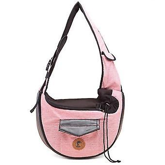Strap Hands Free Pet Puppy Travel Bag Backpack For Men Girls