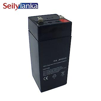 4v 4ah Speicherbatterie Blei-Säure-Batterie Geeignet für elektronische Waage Spielzeug Auto für Kinder Versiegelt Wiederaufladbar für LED Taschenlampe Schreibtisch Lampe Lightin