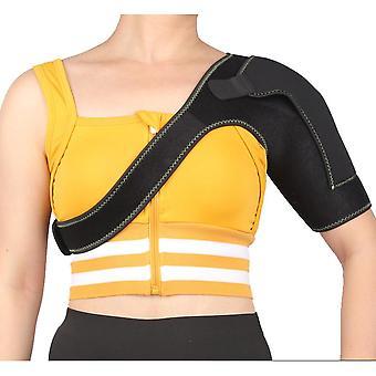 La sangle de soutien de l'épaule s'adapte à gauche pour la manchon de compression de prévention des blessures sportives