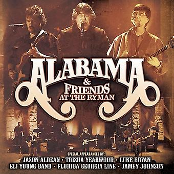 Alabama & Friends - At the Ryman [CD] USA import