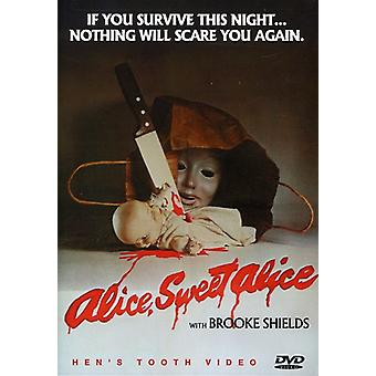Alice Sweet Alice [DVD] USA import