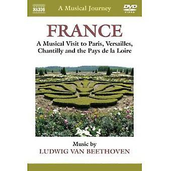 L.V. Beethoven - musikalsk reise: Frankrike [DVD] USA import