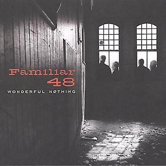 Familier 48 - magnifique rien importation USA [CD]