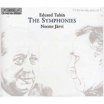 E. Tubin - Eduard Tubin: Les Symphonies [CD] USA import