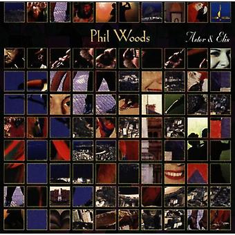 Phil Woods - Astor & Elis [CD] USA import