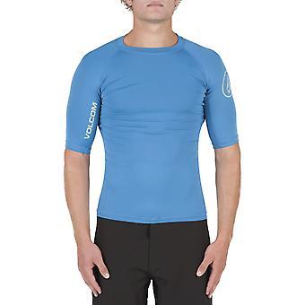Volcom Lido Solids Short Sleeve Rash Vest