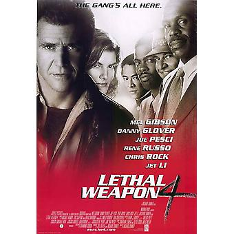 Lethal Weapon 4 Movie Poster (11 x 17)