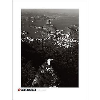 הדפס פוסטר דה ז'ניירו על ידי מרילין ברידג (24 x 32)