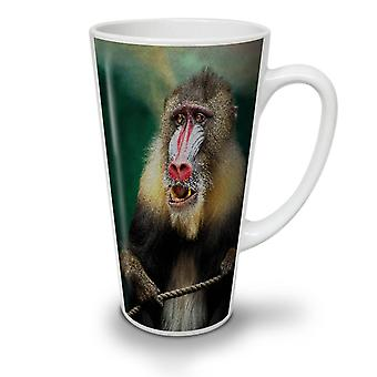 Wild Animal Monkey NEW White Tea Coffee Ceramic Latte Mug 12 oz | Wellcoda