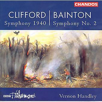 Clifford/Bainton/Gough - Hubert Clifford: Symfoni 1940; Edgar Bainton: Symfoni nr 2 [CD] USA import