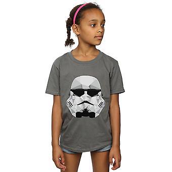 Звездные войны девочек штурмовиками геометрические шлем футболку