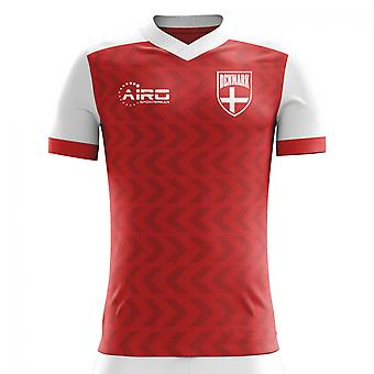 2020-2021 Denmark Home Concept Football Shirt (Kids)