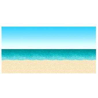 Blå himmel og hav baggrund