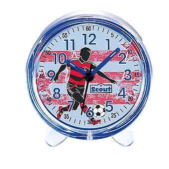 Scout pojke väckarklocka alarm favorit blå fotboll 280001052
