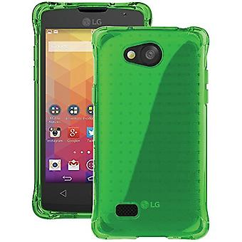 5 Pack -Ballistic Jewel Case for LG Classic L18VC - Translucent Neon Green