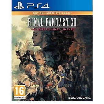 Final Fantasy XII l'età dello Zodiaco - gioco per PS4 edizione limitata in acciaio Book