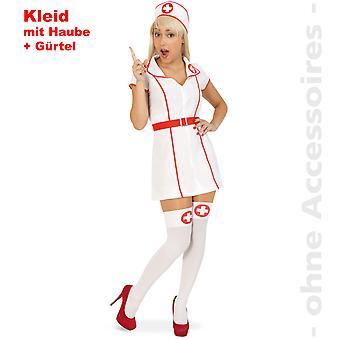 Sykepleier kostyme damer søster Sykepleier Sykepleier Lady drakt