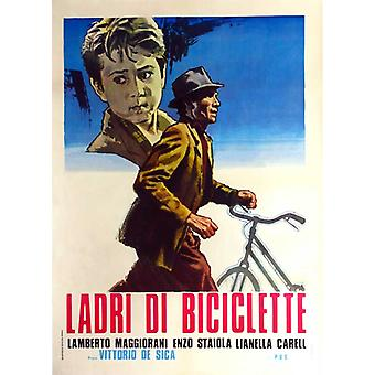 Polkupyörän varas elokuvajuliste (11 x 17)