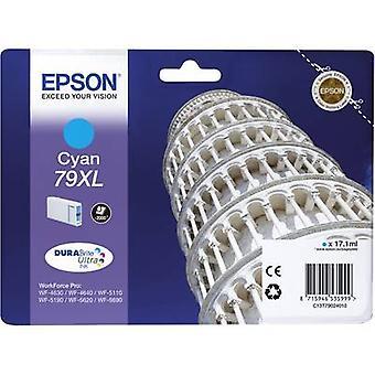 الحبر Epson T7902، 79XL C13T79024010 السماوي الأصلي