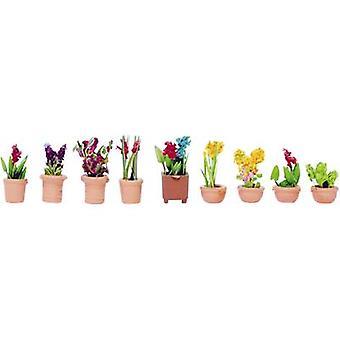 NOCH 14080 N Zierpflanzen montiert