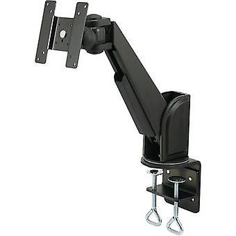 SpeaKa Professional SP-1664312 1x skjerm skrivebords montering 33, 0 cm (13)-55, 9 cm (22) vippbart, svingbare, svingbare